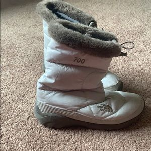 The North Face 700 winter boots.